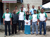 Members Board of KSU ARINAGATA with exporter also Inspector Organic and FLO Fairtrade in Takengon – Aceh Tengah Indonesia